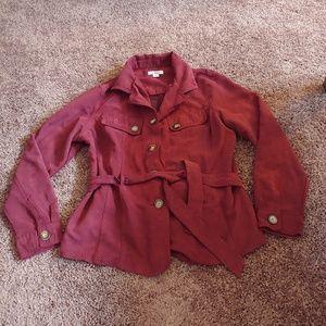 Cato super soft blazer jacket with belt